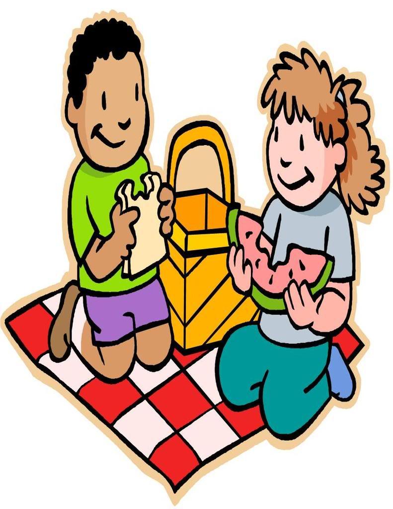 Beach picnic table clipart.