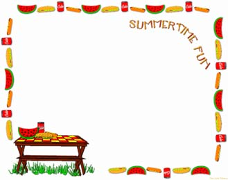 Free Picnic Clipart Pictures.