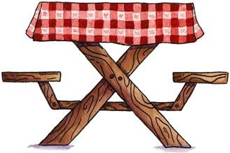 Picnic Table@Share on picnic tableclip art_petal.