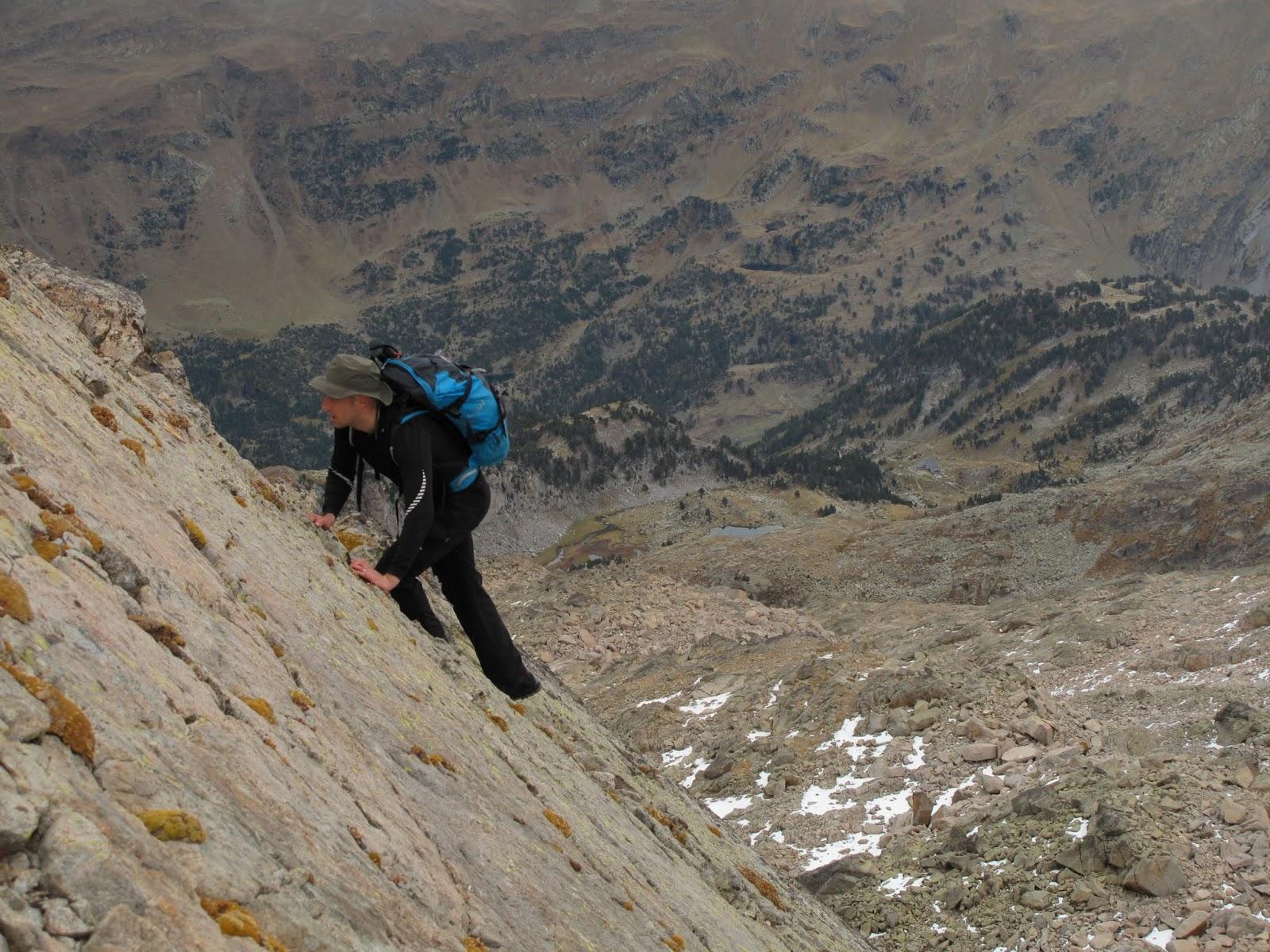 Pyrenees: Pico de Aneto and Pico de Alba from Benasque.