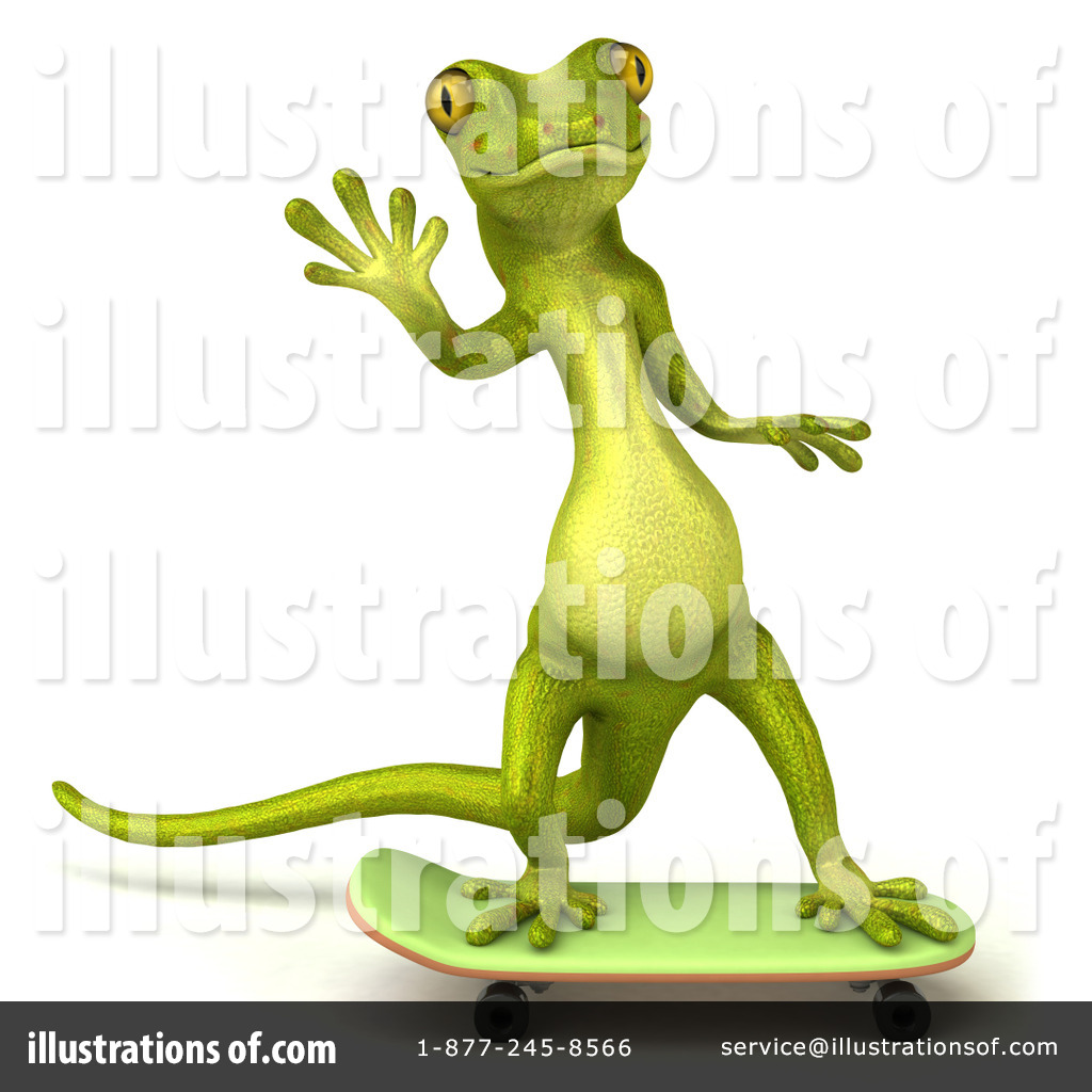 Pico Gecko Character Clipart #82044.