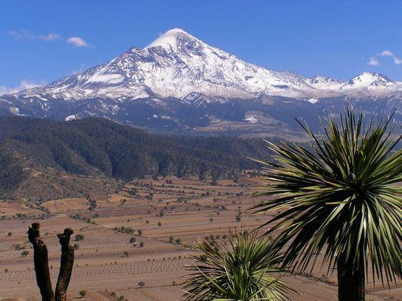 Pico de Orizaba, Mexico.