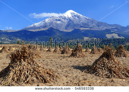 Pico De Orizaba Volcano Citlaltepetl Highest Stock Photo 546593326.