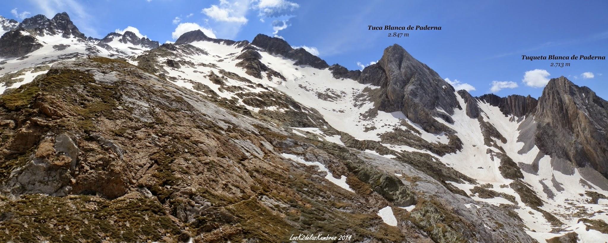 Pico de Paderna 2.628 m desde La Besurta.