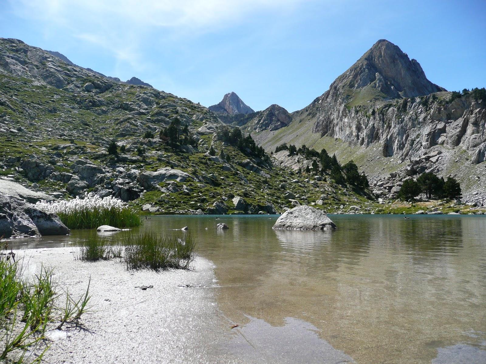 Por las montañas de Aragón.