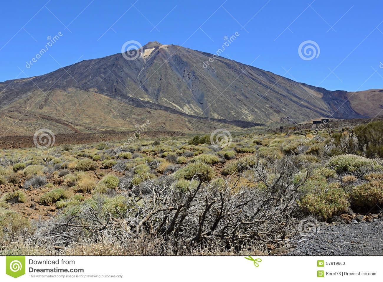 Pico De Teide (Dormant Volcano), Tenerife, Canary Islands, Spain.