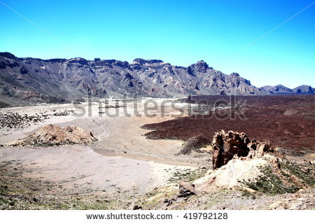 Teide Stock Images, Royalty.