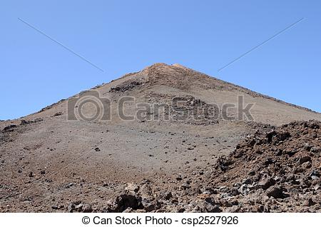 Stock Image of Pico de Teide, Tenerife. Highest mountain of Spain.