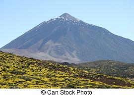 Stock Photo of Pico del Teide Tenerife csp2504744.
