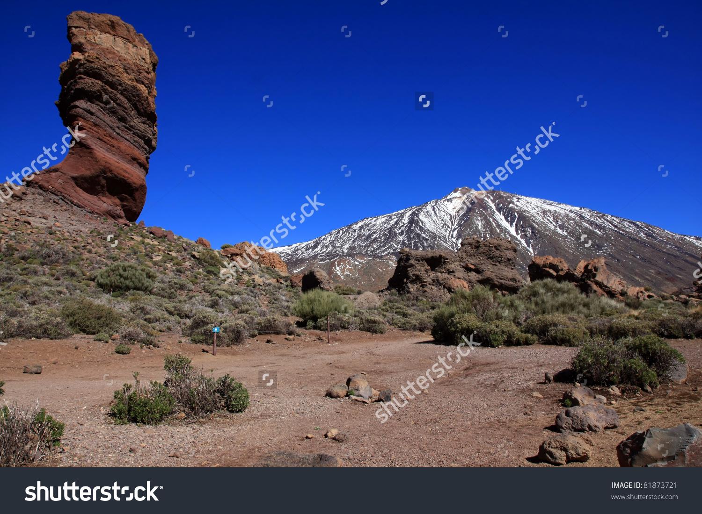 Volcano Pico Del Teide, El Teide National Park, Tenerife, Canary.