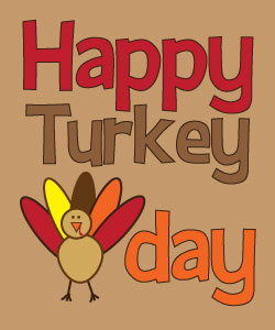 Free turkey clipart and printables for crafts, teachers, and.