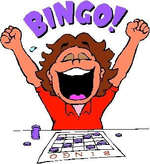 People playing bingo clipart kid.