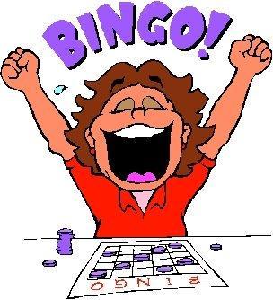 People playing bingo clipart kid.