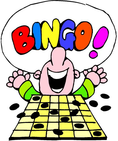 Pics Of People Playing Bingo Clipart.