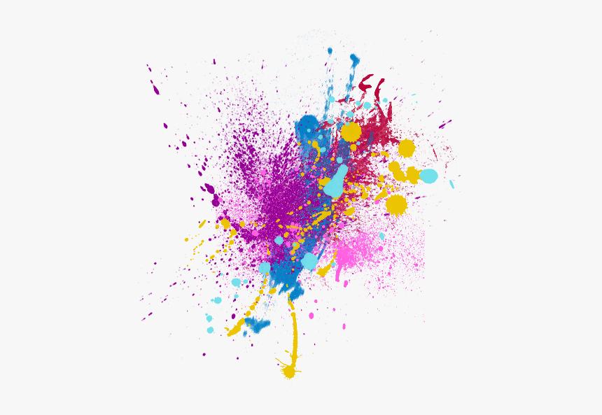 Colour Picsart Splash Effect, HD Png Download , Transparent.