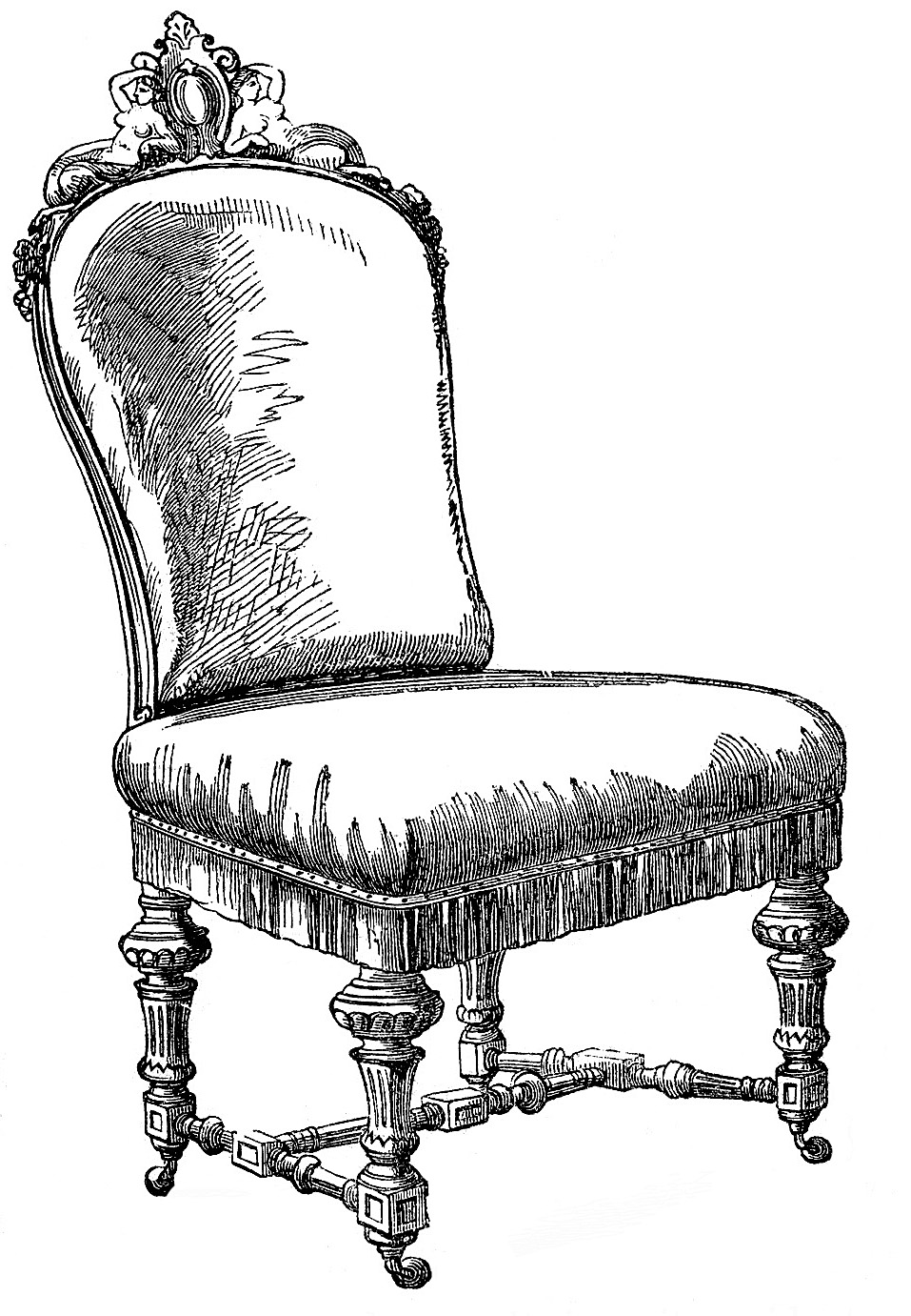Free Vintage Sofa Cliparts, Download Free Clip Art, Free.