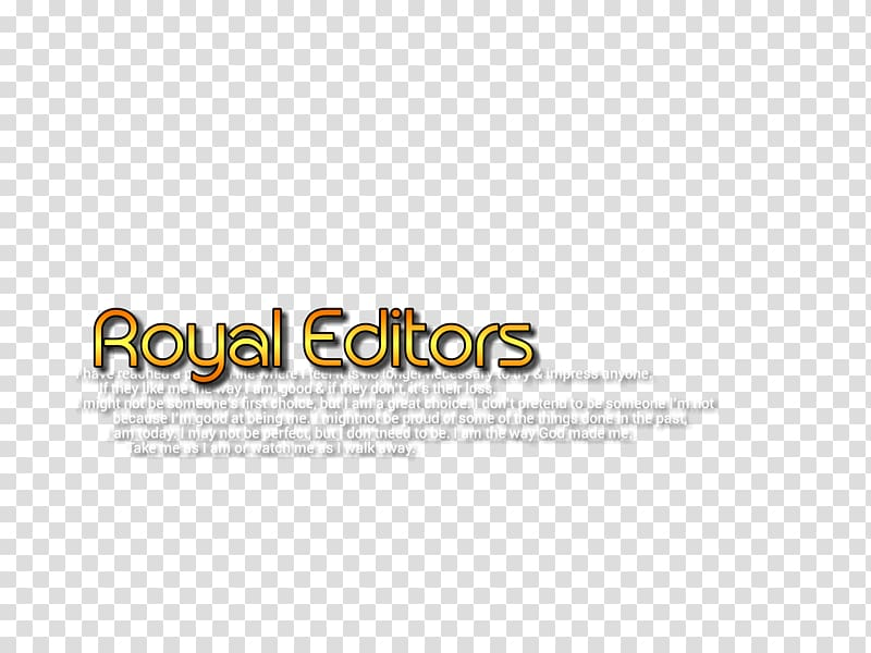 Blue background with gold text overlay, Editing Text editor.
