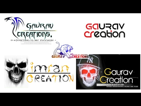 How to Make PicsArt Name Creation Logo.