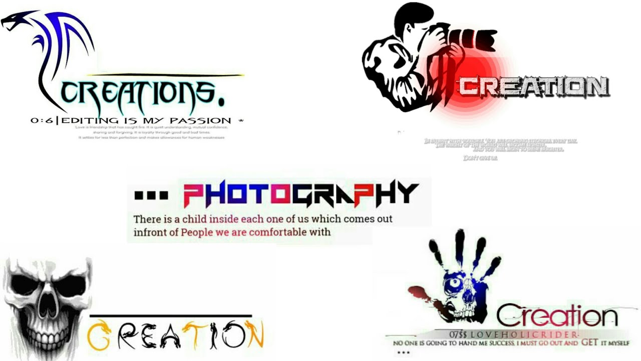 How to Edit our own creation Logo PNG.
