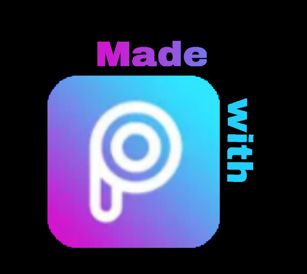 madewithpicsart picsart icon writing blue purple pink.
