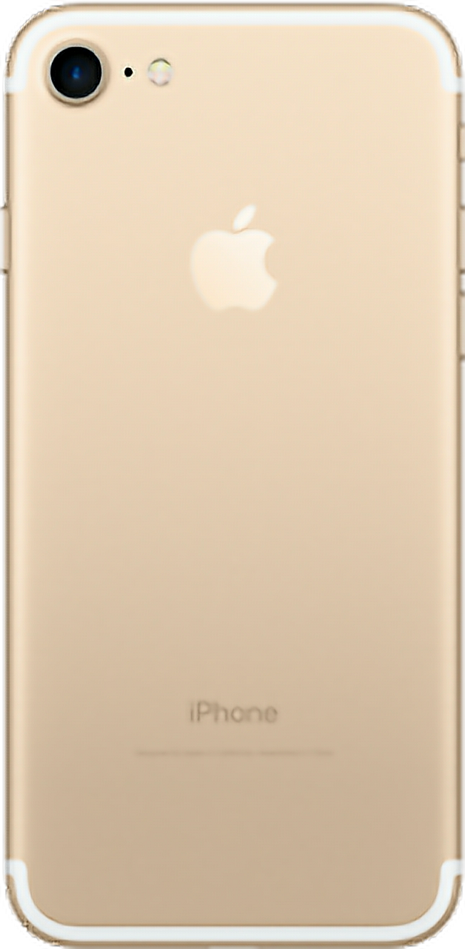 iphone7 png iphone phone trasero gold colorgold celular.