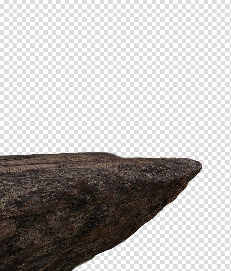 Brown rock formation against blue sky, Desktop Computer.