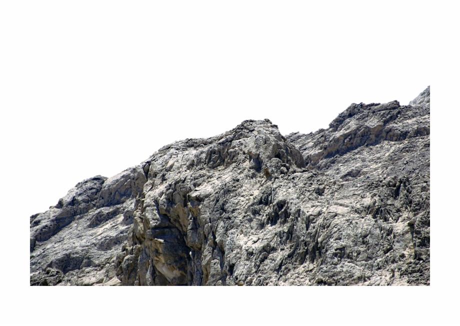 Mountain Rocks Png.