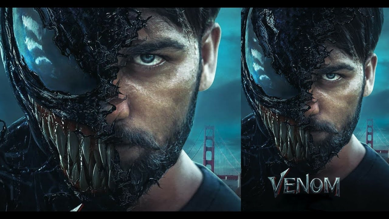 Venom Movie poster.
