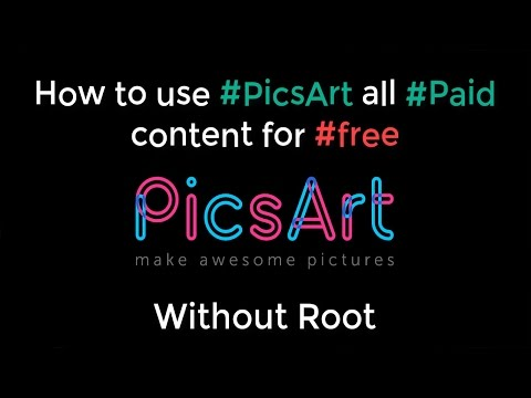 Picsart Paid Clipart Free No Root Required.
