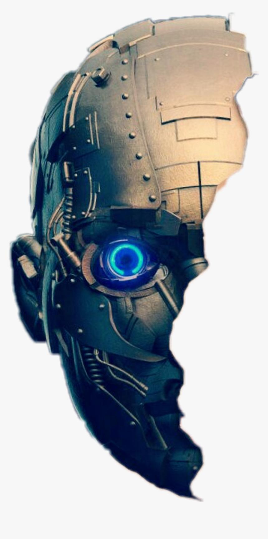 Robot Face Png.