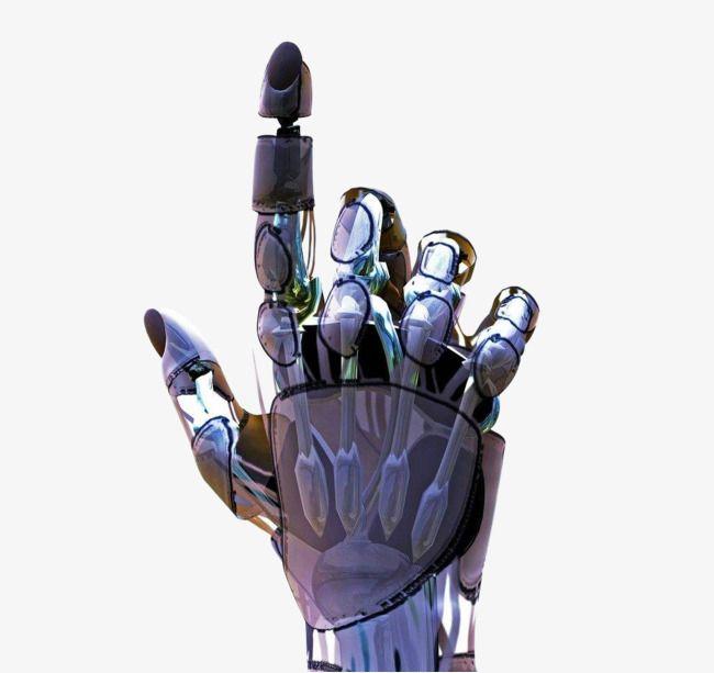Robot Hands, Robot Clipart, Technology, Right Hand PNG.