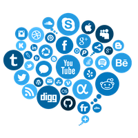 Download Social Media Free PNG photo images and clipart.