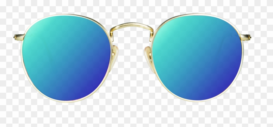 Blue Sunglasses Png.