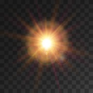Sun Light PNG Images.
