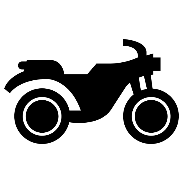 Motorcycle Icon, Transportation, Vehicle, Pictogram PNG and.