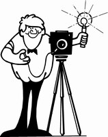 Church Pictorial Directory Clip Art.