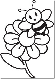 Free Clipart Black and White Flowers.