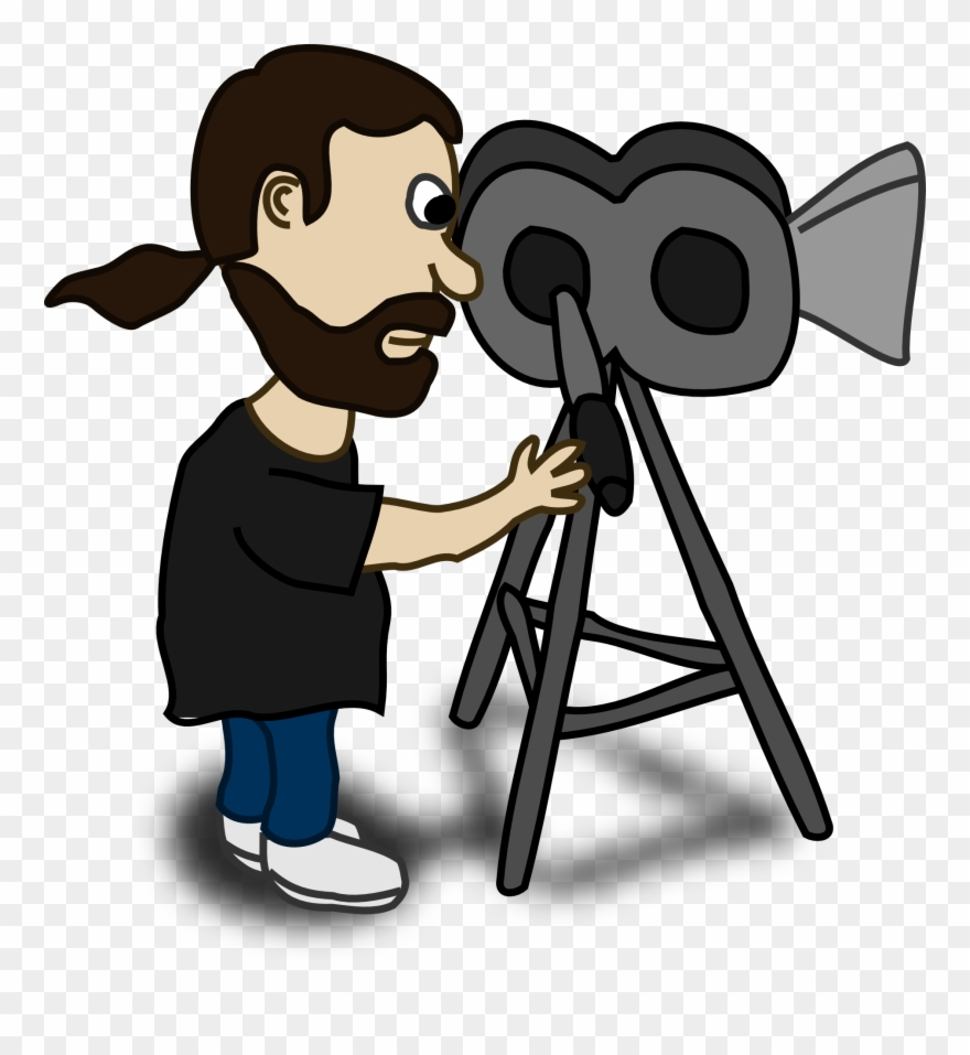Film Clipart Media Camera.