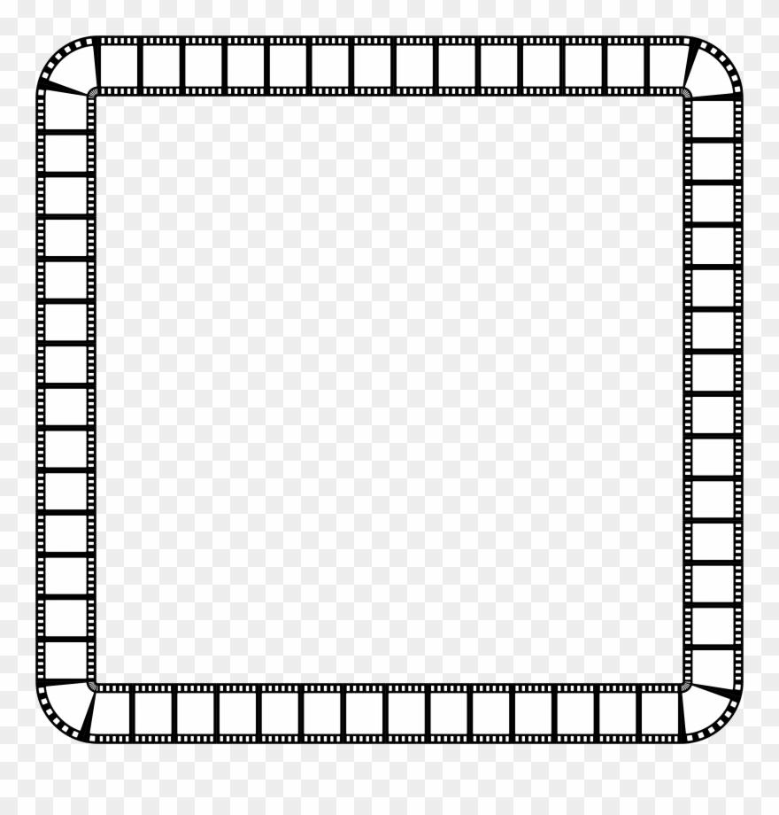 Clipart Film Strip Square Frame.