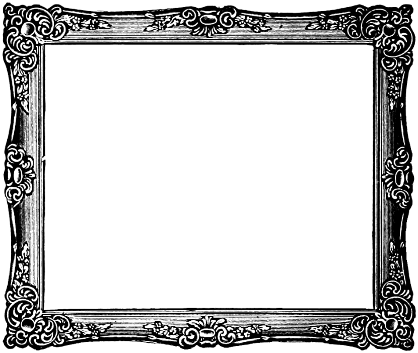 Pleasing Picture Frame Clip Art Border Free Clipart.