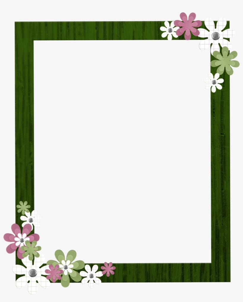 Green Border Frame Clipart.