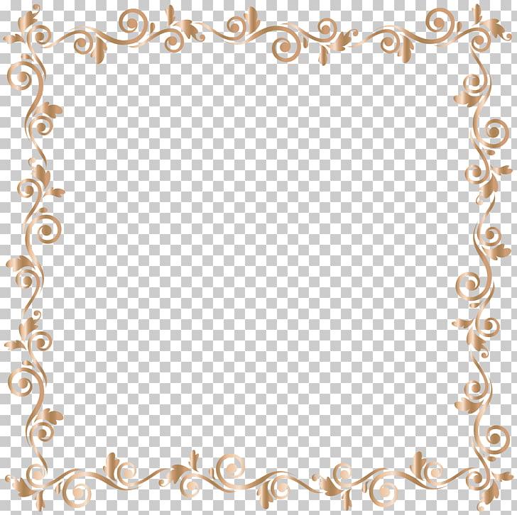File formats Lossless compression, Border Frame Gold , brown.