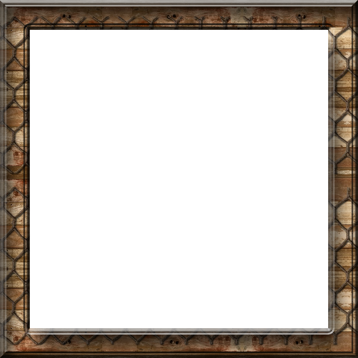 Square Frame Clipart PNG #25158.
