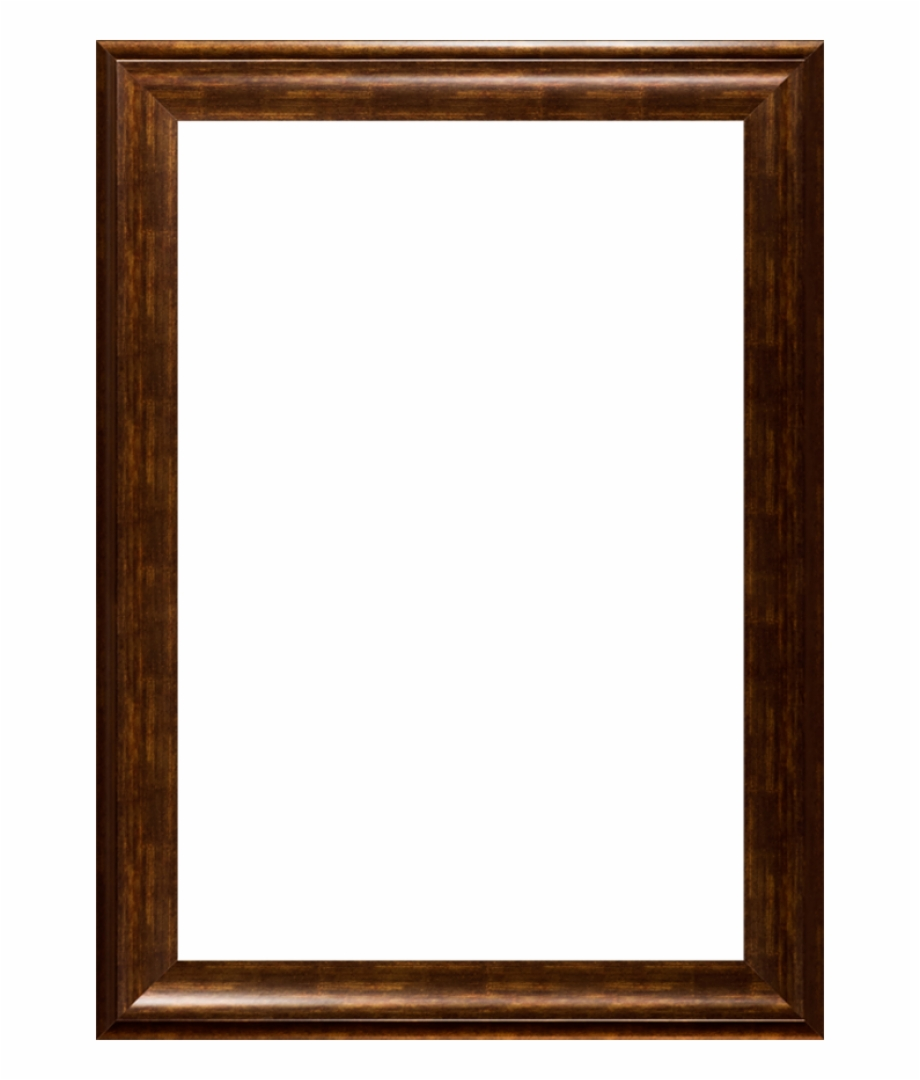 Antique Wooden Frame Png.