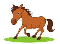 Small Horse Clipart.