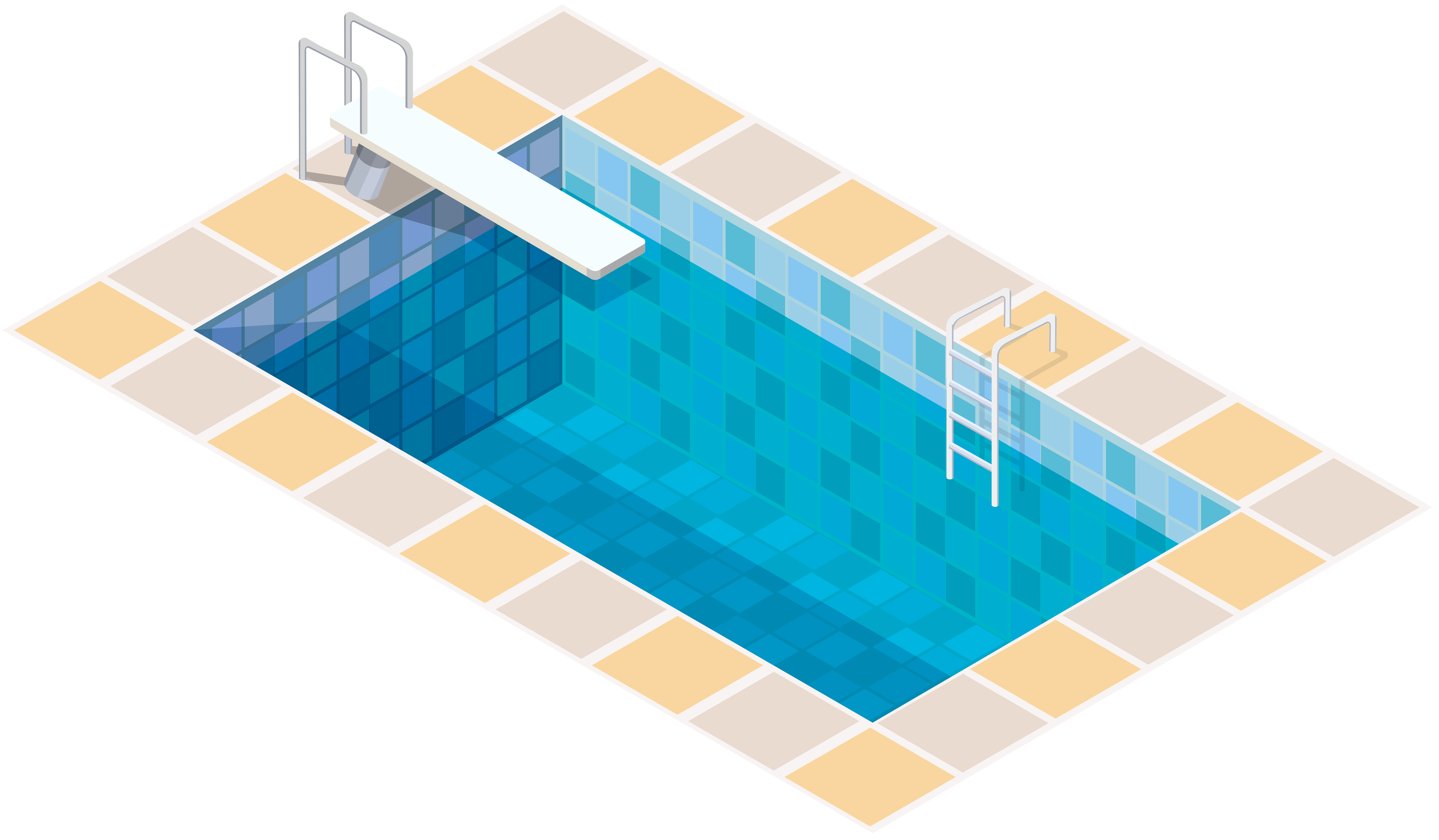 Swimming Pool PNG Clip Art.