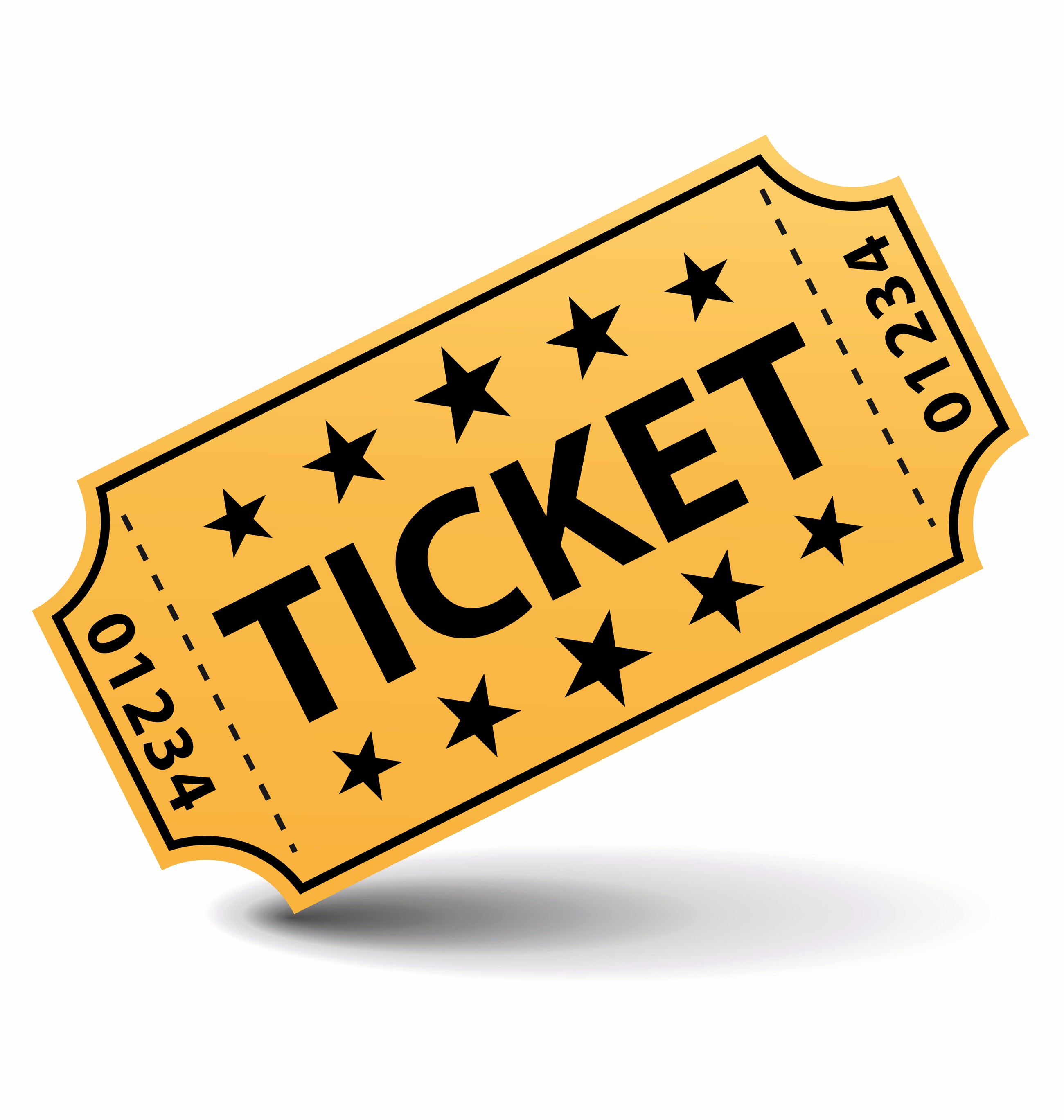 Ticket Clip Art To Print.