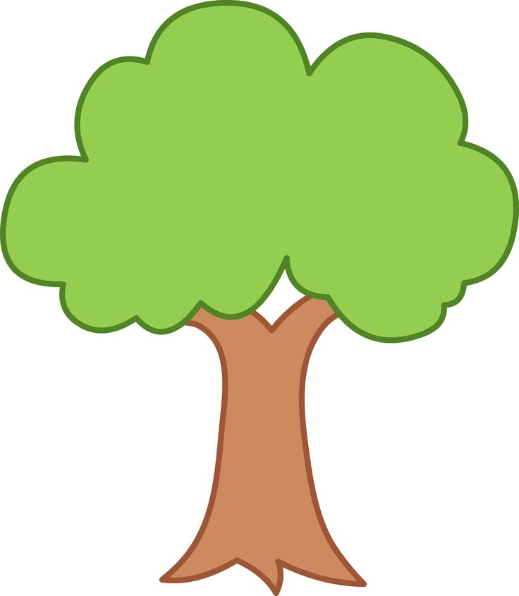 Don\'t Cut Trees Clipart.