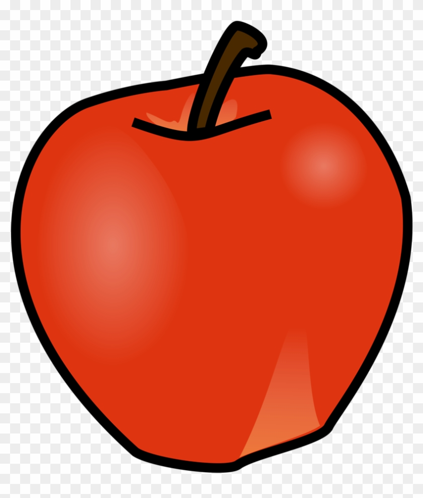 Apple Clipart Free At Getdrawings.