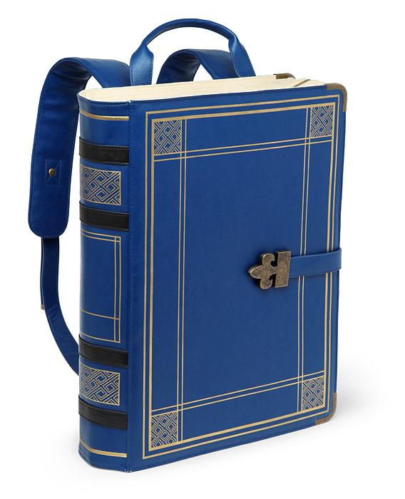 Olde Book Backpack.